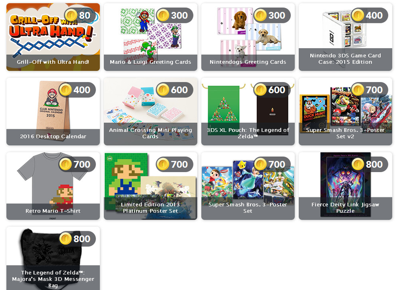 Illustration for article titled There are 117 Games, Physical Items on Club Nintendo Right Now