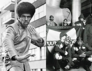 Jim Kelly (Silver Screen Collection/Moviepix); Wu-Tang Clan (Last.fm)