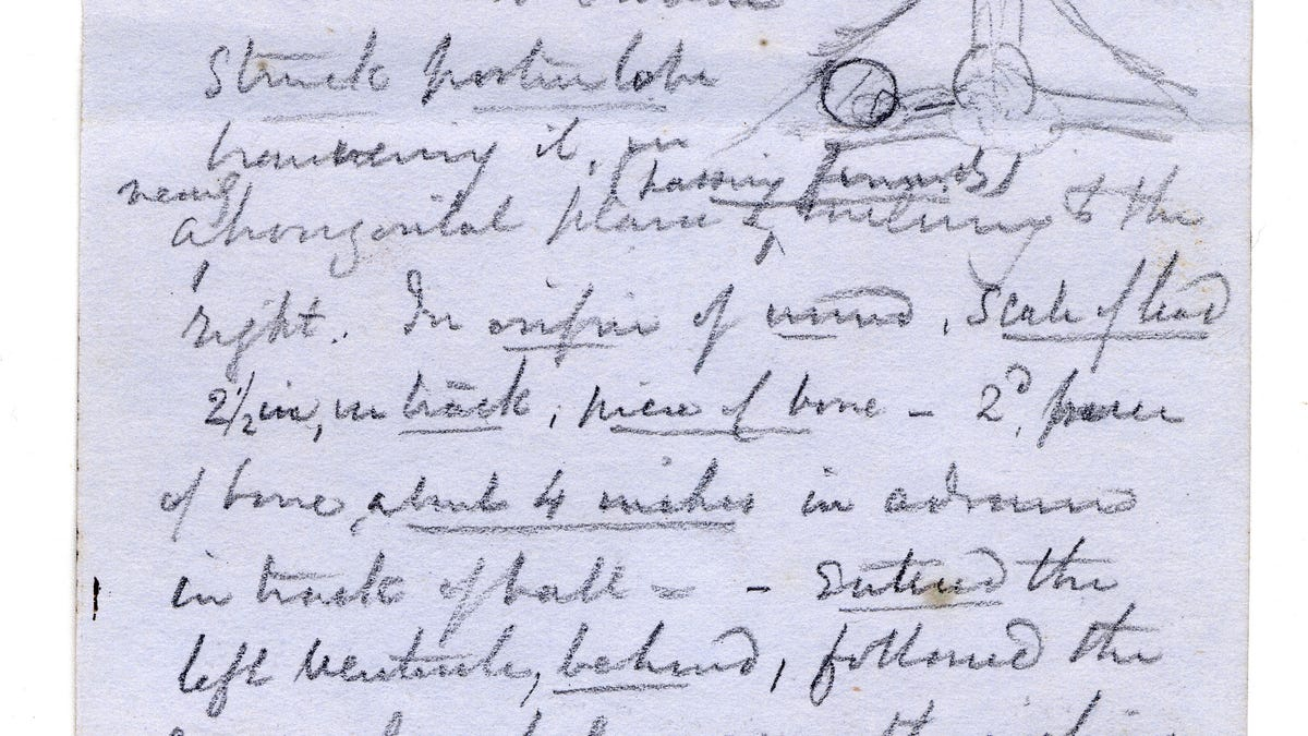 Abraham Lincoln Autopsy Notes Reveal The Horror Of An Assassin S Gunshot