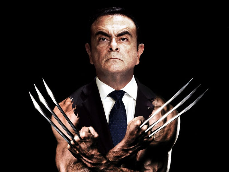 Illustration for article titled This whole Ghosn thing...