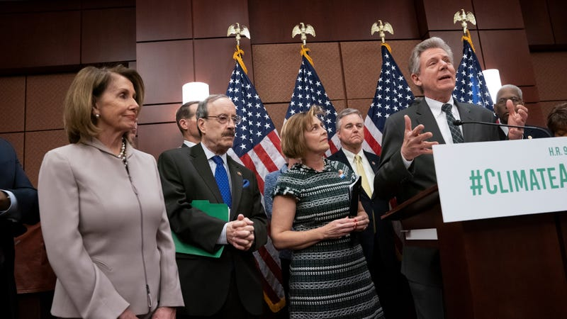 House Energy and Commerce Chairman Frank Pallone speaks at a press conference in March.