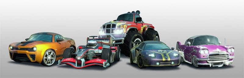 Illustration for article titled Toy Cars Coming To Burnout Paradise