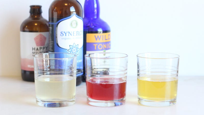 How to Make a Kombucha Flight