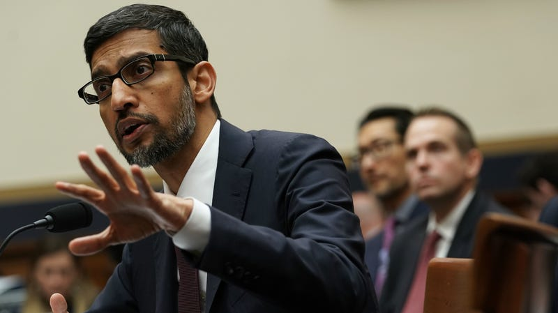 Google CEO Sundar Pichai testified before the House Judiciary Committee in December.