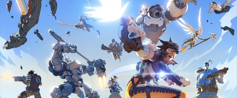 Illustration for article titled Overwatch and Battleborn: Two titles that could potentially compete against each other for years to come