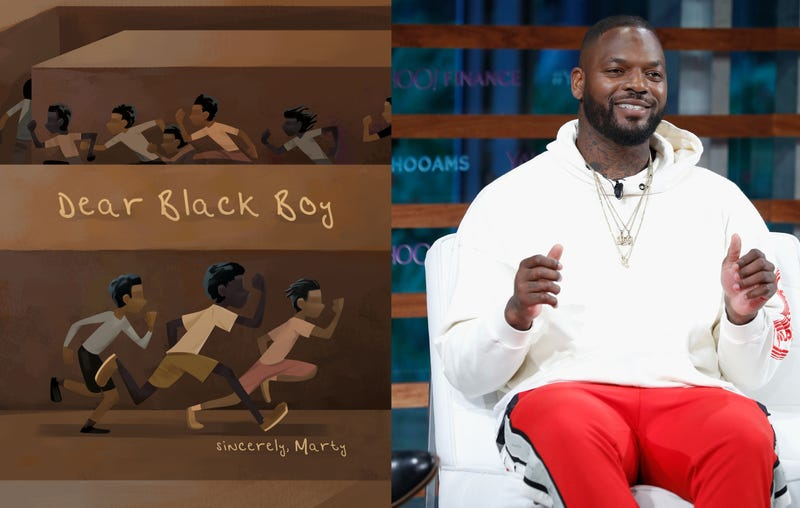 Dear Black Boy by Martellus Bennett/CEO The Imagination Agency Martellus Bennett speaks during the 2018 Yahoo Finance All Markets Summit on Sept. 20, 2018, in New York City.