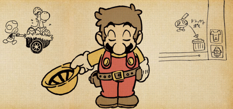 Illustration for article titled Mario's Voice Actor Plays Mario Maker, And It's A Trip