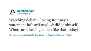 Illustration for article titled Patti Stanger Thinks Mitt Romney is the Perfect Man