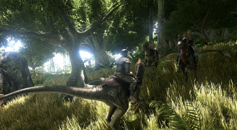 Ark: Survival Evolved Has Downgraded Its Dinosaurs