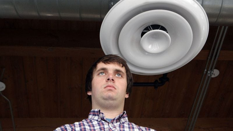 Illustration for article titled 7 Signs You're The 'I Live In The Heating Ducts' Guy In Your Office