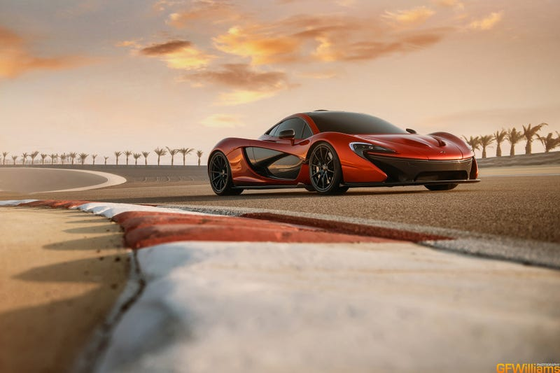 Illustration for article titled I've Photographed The McLaren P1