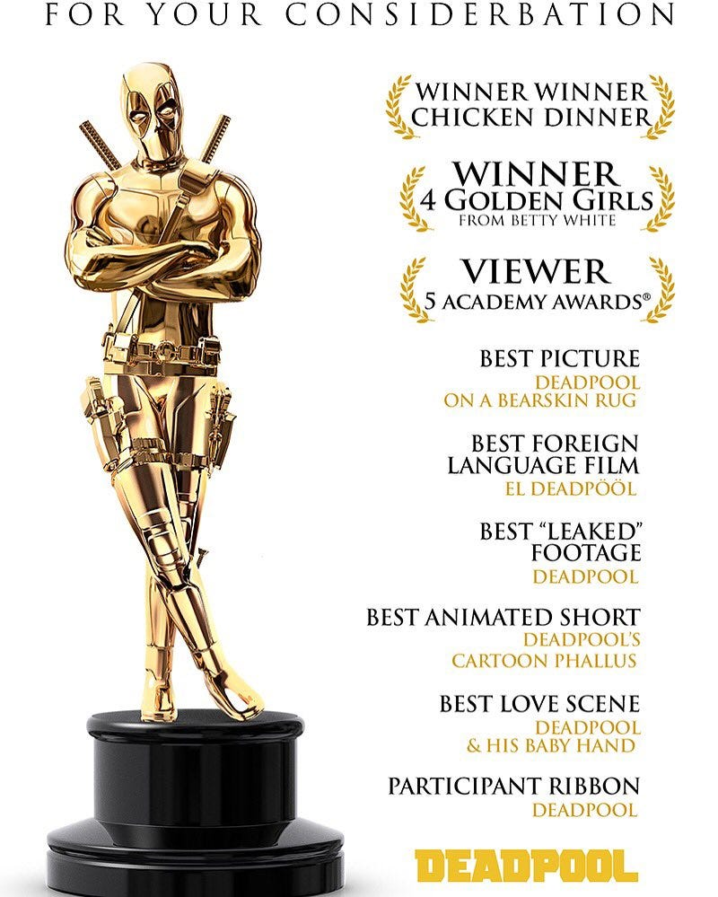 Illustration for article titled Oscars Oppo