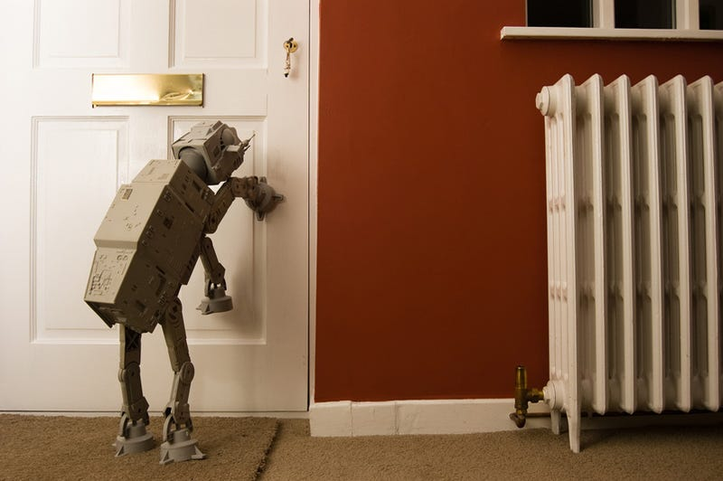 Illustration for article titled Pet AT-AT (Probably) Won't Poop on Your Carpet
