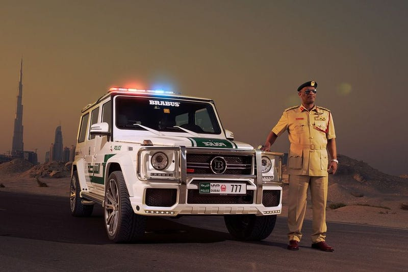 Illustration for article titled The newest Dubai Police car is super reasonable.
