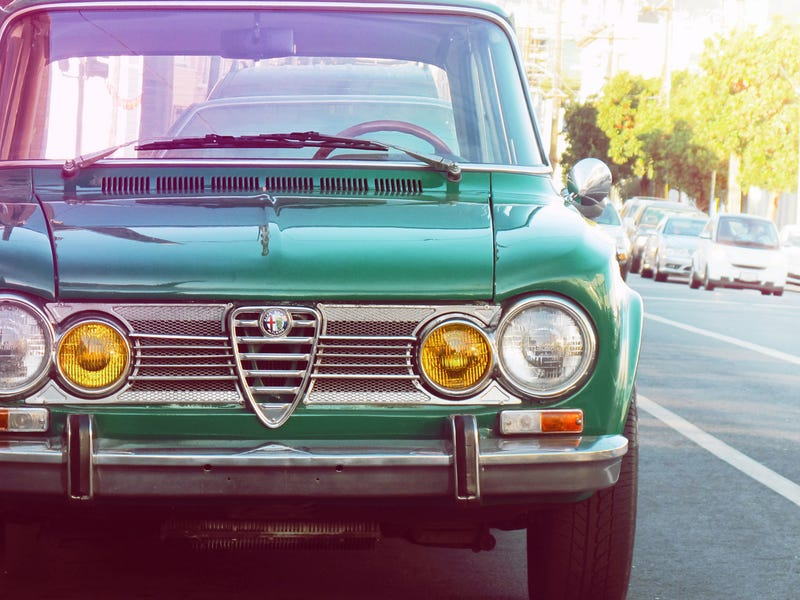 Illustration for article titled Glad to be in. Have a Alfa Romeo Giulia Super 1.3