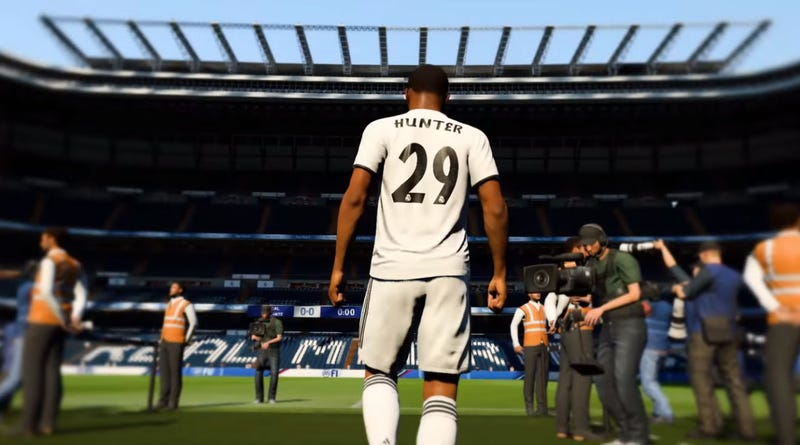 Illustration for article titled Real Madrid Are Selling Actual Alex Hunter Jerseys