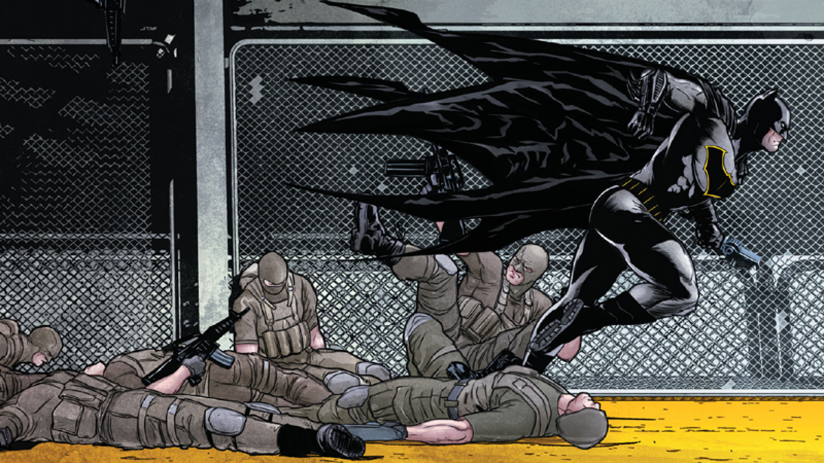 Today's Heartbreaking Issue of Batman Gives Us a Whole New