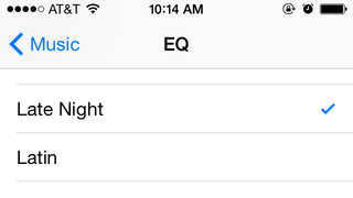 "Use the ""Late Night"" EQ Setting in iOS for Better Sound in Loud Spaces"