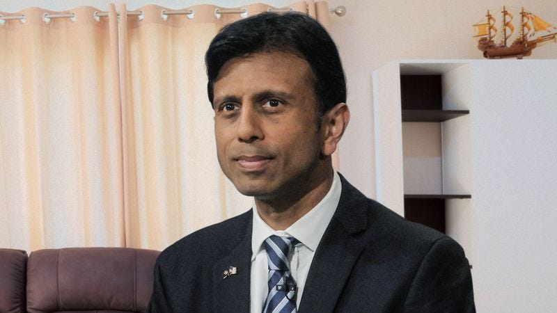 Illustration for article titled Bobby Jindal Lies To Parents About Winning GOP Nomination