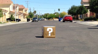 Illustration for article titled 'Suspicious Package' Found In Arizona Today Looks Really Familiar