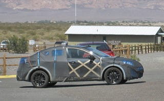 Illustration for article titled 2010 Mazda3 Caught Riding Dirty In Death Valley