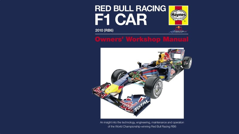 Illustration for article titled Haynes publishes workshop manual for Red Bull F1 car