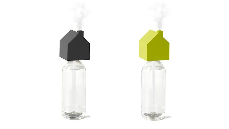 Illustration for article titled This Sweet Little House-Shaped Humidifier Keeps You Cozy Anywhere