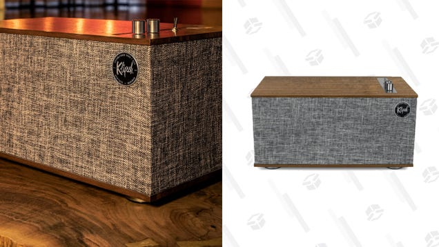 Klipsch s The Three II Speaker Brings Supreme Wireless Audio and Nostalgia to Your Home, Over 50% Off