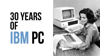Illustration for article titled Thirty Years of IBM PCs Means 29.9 Years of PC Gaming