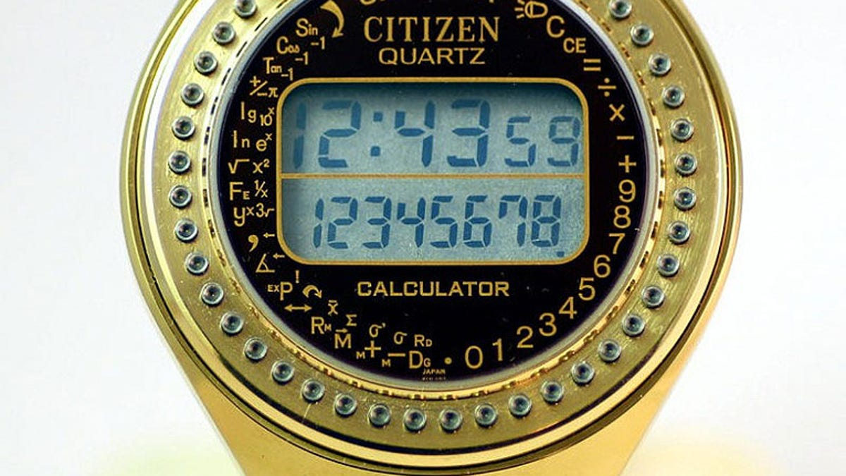 The Gadget We Miss: The Calculator Watch