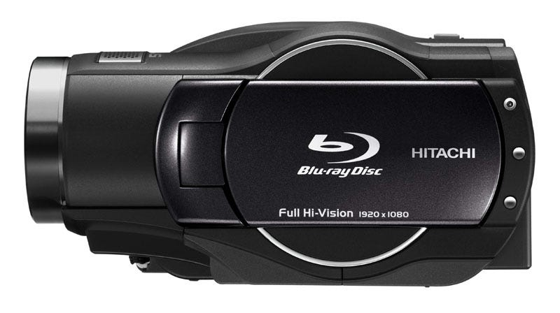 Illustration for article titled New DZ-BD9H Blu-Ray HDD Camcorder From Hitachi Tries to Make Up For Past Mistakes