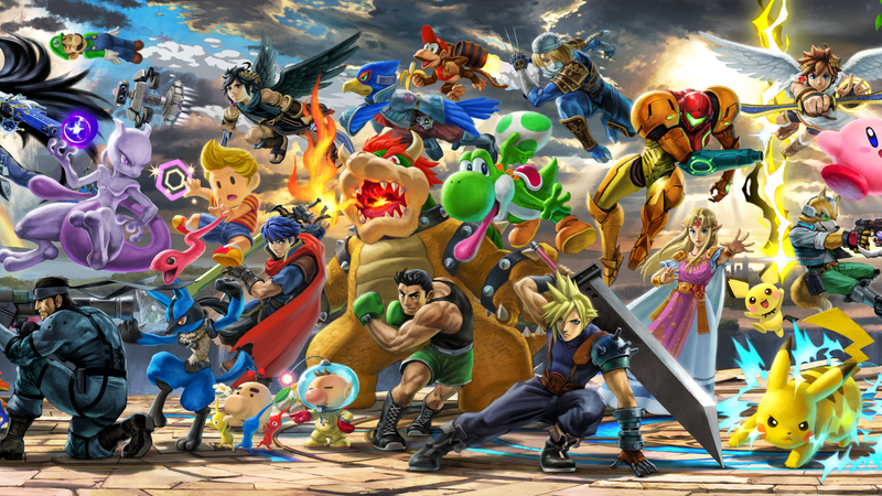 Illustration for article titled With Its Massive Cast, Super Smash Bros. Ultimate Desperately Needs A Tournament Mode