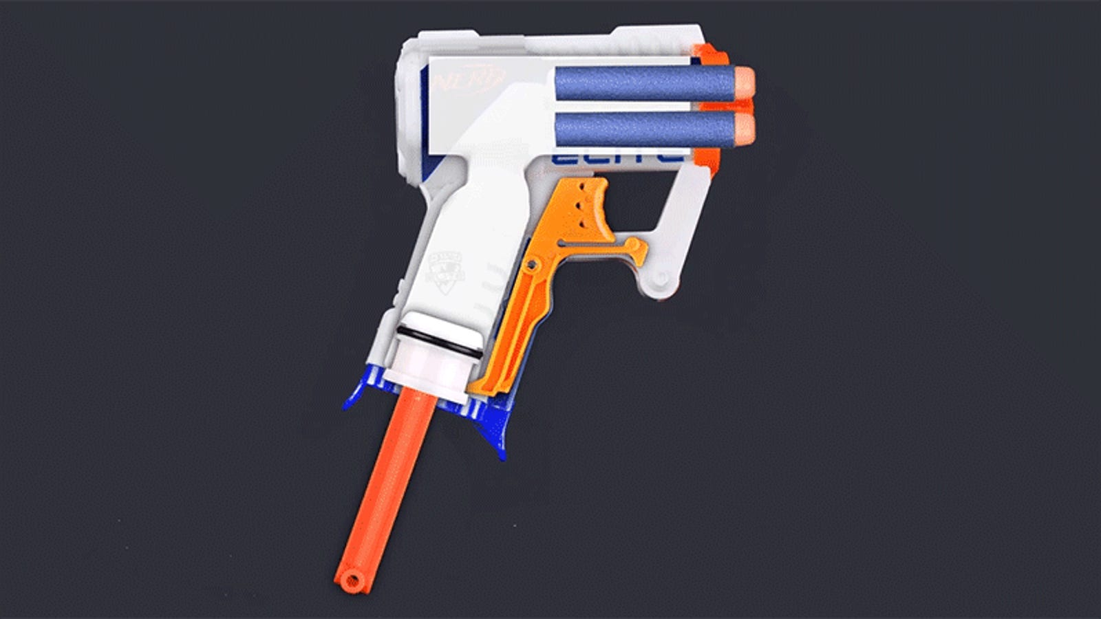 The Simple But Brilliant Engineering Behind a Nerf Blaster