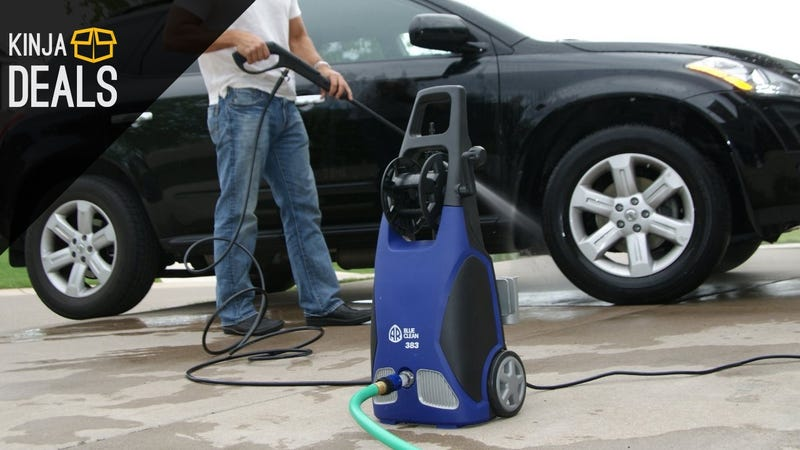 Illustration for article titled Clean Your Driveway, Porch, and More With This Discounted Pressure Washer