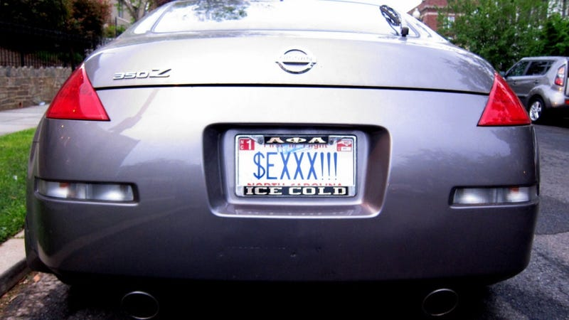 Your Ny State License Plate Can T Say Pubes Kotex Or Luvcok