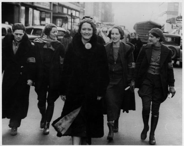 'Women That Would Gladly Give Their Life': How The Paramilitary Women s Emergency Brigade Battled GM At The UAW s First Big Strike