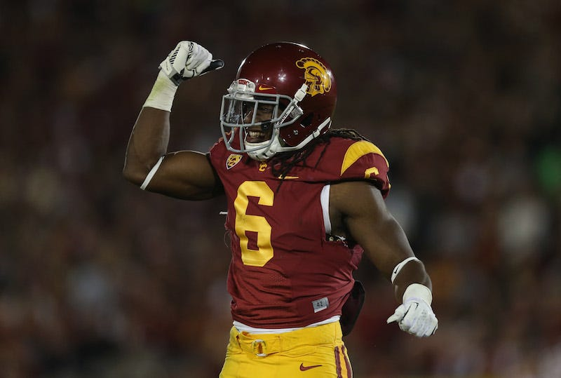 Illustration for article titled USC: Trojans DB Out After Leaping From Balcony To Save Drowning Nephew