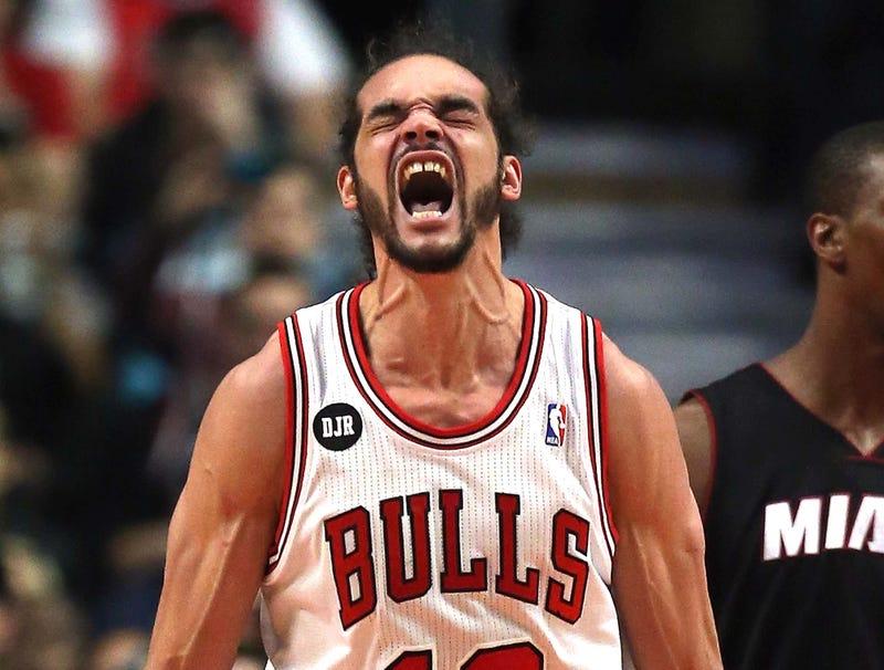 Illustration for article titled Joakim Noah Sets NBA Record For Most Consecutive Screams