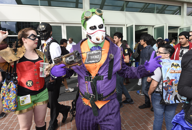 Illustration for article titled The Most Spectacular Cosplay of Comic-Con 2015, Day One!