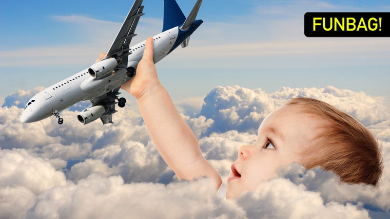 Illustration for article titled A Father's Guide To Kiddie Air Travel