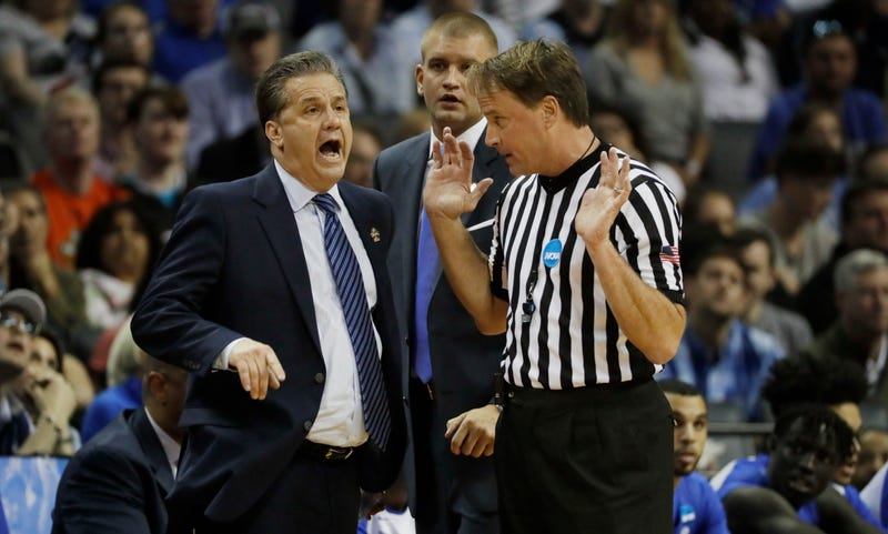 Ref target of death threats after Kentucky loss