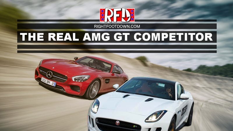 Illustration for article titled The AMG GT Competitor is Not the 911