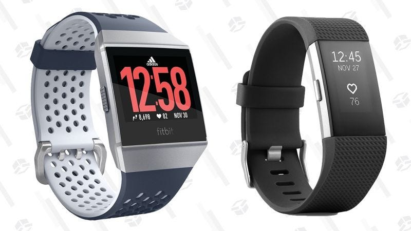 Fitbit Charge 2 HR | $120 | AmazonFitbit Ionic | $250 | AmazonGráfico: Shep McAllister