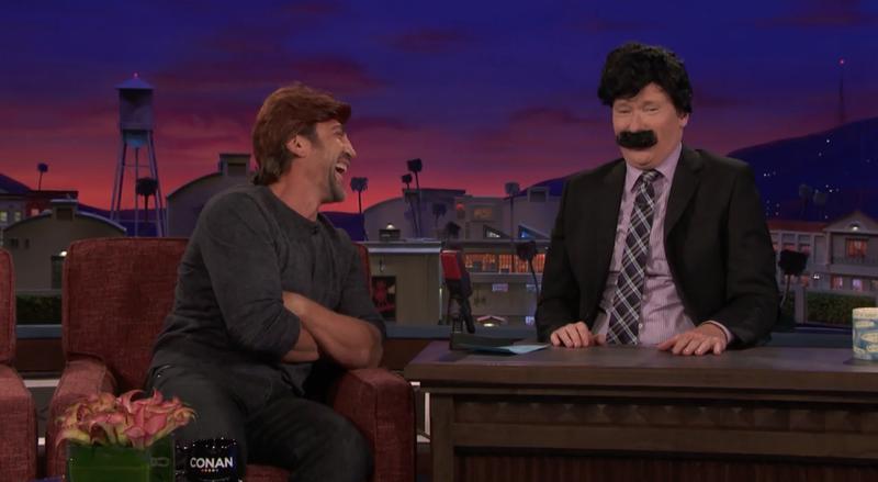 Javier Bardem, Conan O'Brien