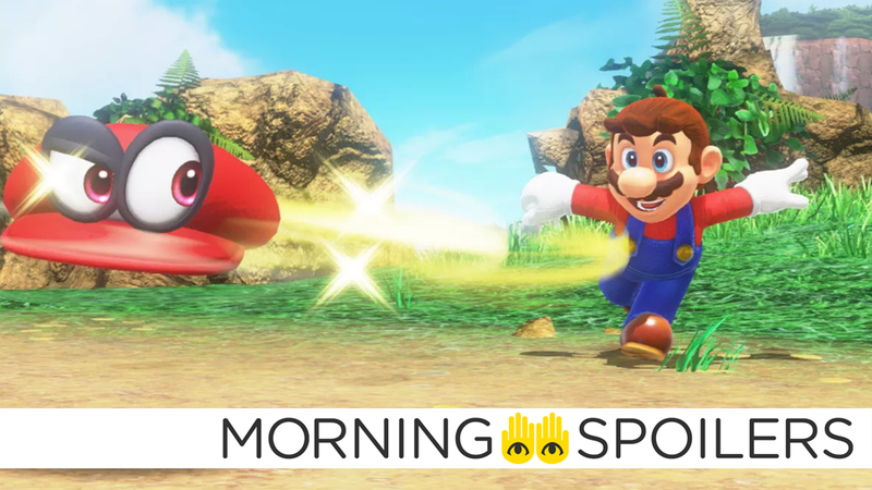The new Mario movie could be coming sooner than you'd think.