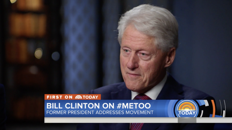 Illustration for article titled Bill Clinton Gives Total Piece of Shit Answer to Question About #MeToo, Monica Lewinsky