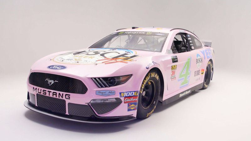 Illustration for article titled The 'Millennial-Inspired' NASCAR Race Car Is Actually Not That Bad?