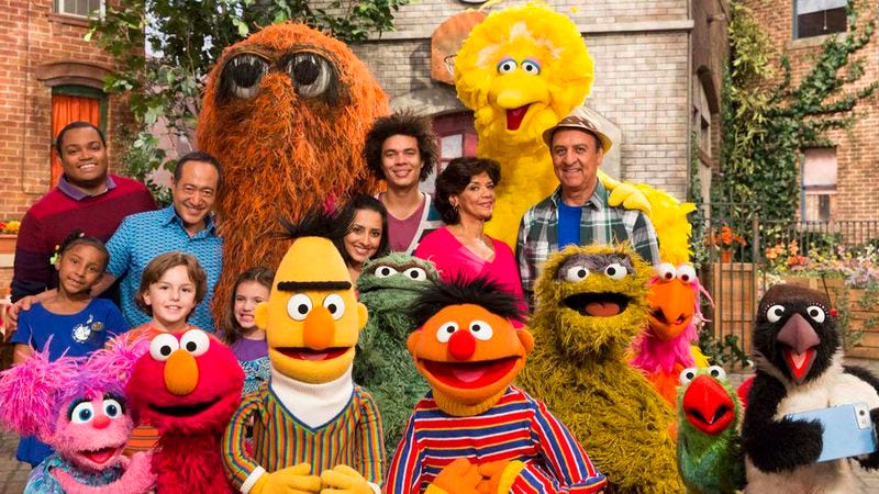 Illustration for article titled Sesame Street will begin airing on HBO this fall