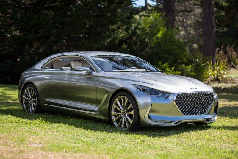 Illustration for article titled Genesis Vision G Concept v Cadillac Escala Concept