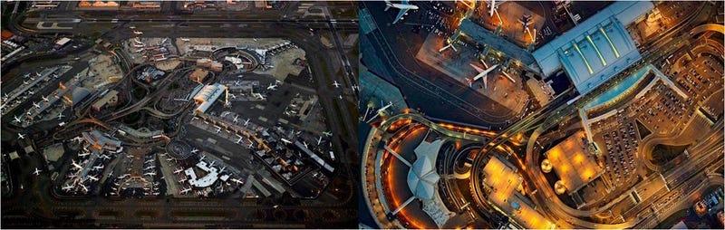 Illustration for article titled El caos controlado de los aeropuertos, visto desde el aire